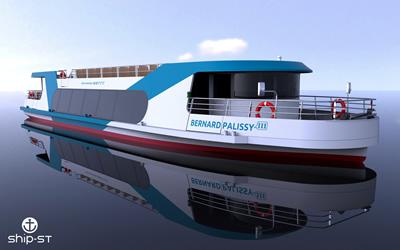 Un bateau zéro émission en construction