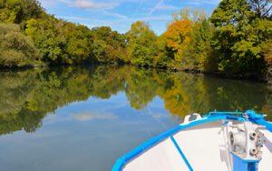 Couleurs d'automne sur la Charente