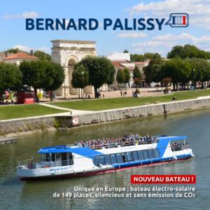 Nouveau bateau Bernard Palissy III