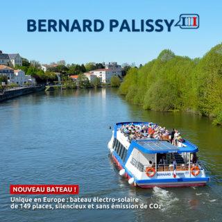 Croisières fluviales sur la Charente au départ de Saintes